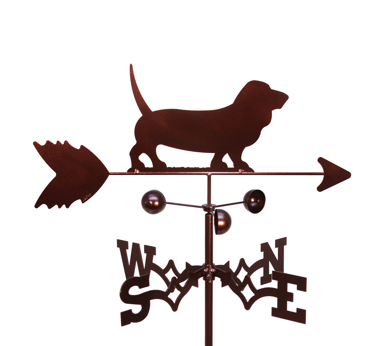 Basset Hound Dog Weathervane Swen Products
