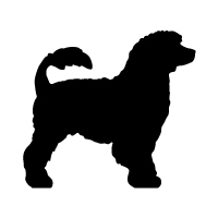 Portuguese Water Dog Logo