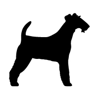 Irish Wire Fox Terrier Logo