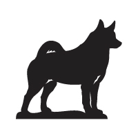 Norwegian Elkhound Logo