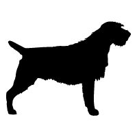 Wirehaired Pointing Griffon Logo