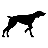 German Shorthaired Pointer Logo