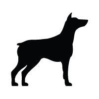 Doberman Pinscher Logo