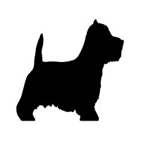 West Highland White Terrier Logo