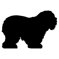 Old English Sheepdog Logo