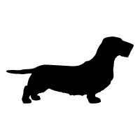 Wirehaired Dachshund Logo