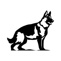 German Shepherd Logo