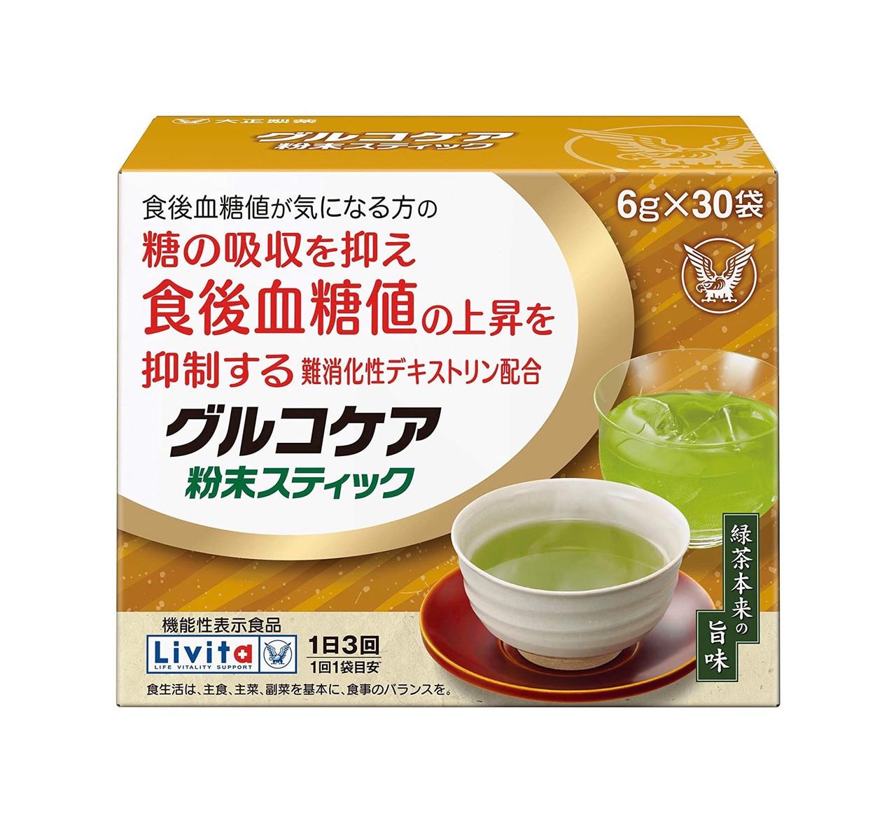 Livita Glucocare Зеленый чай от повышения сахара