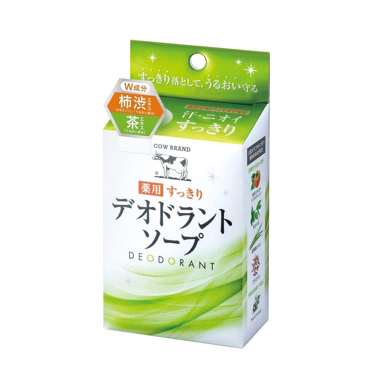 Cow Brand Deodorant Soap — мыло-деодорант