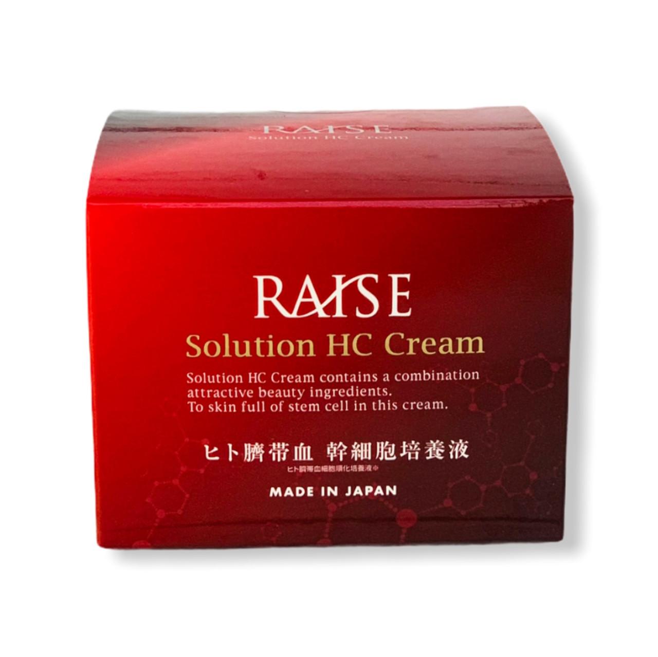 Raise Solution HC Cream Антивозрастной крем со стволовыми клетками