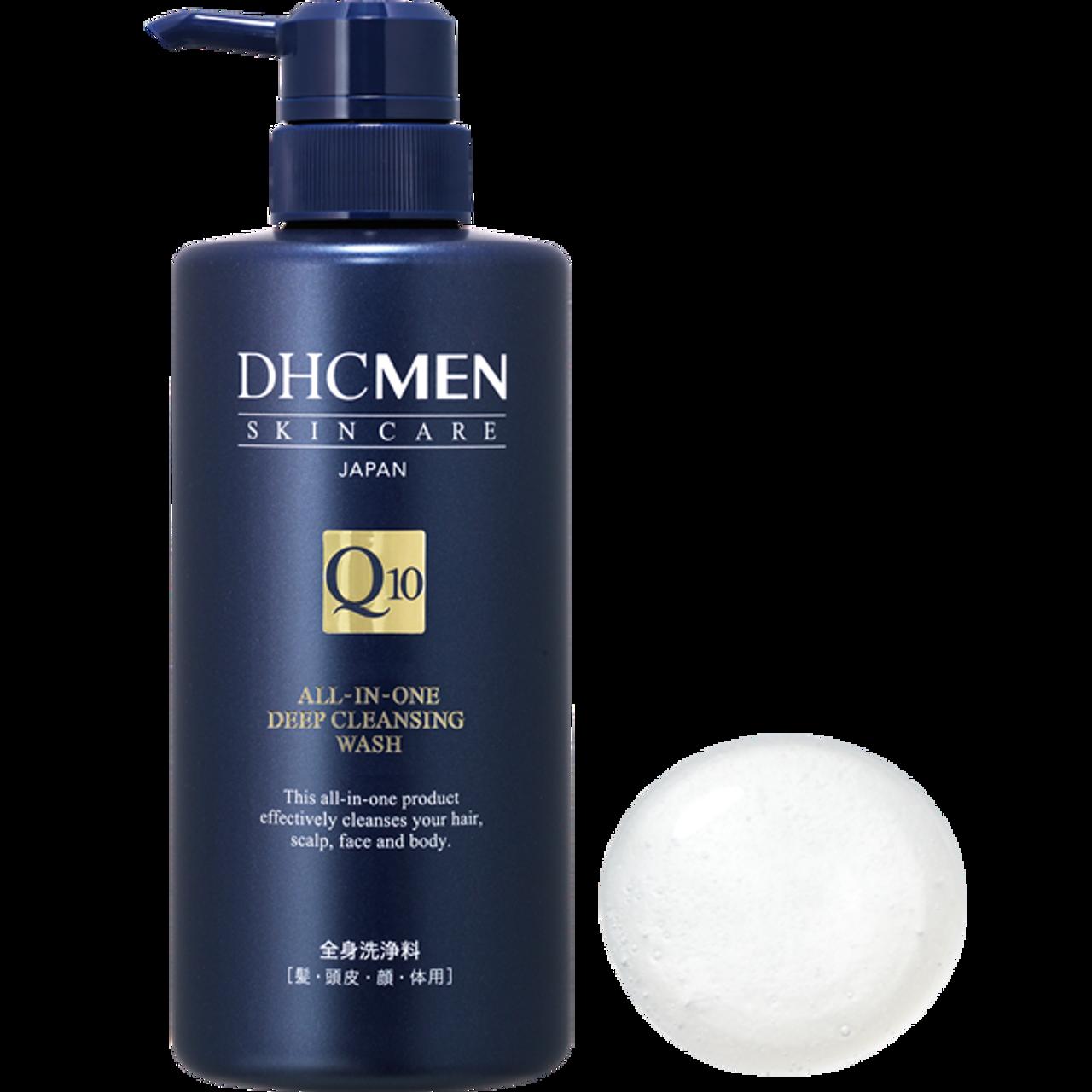 DHC Men All-in-one Deep Cleansing Wash – Универсальное средство для мытья тела, лица и волос