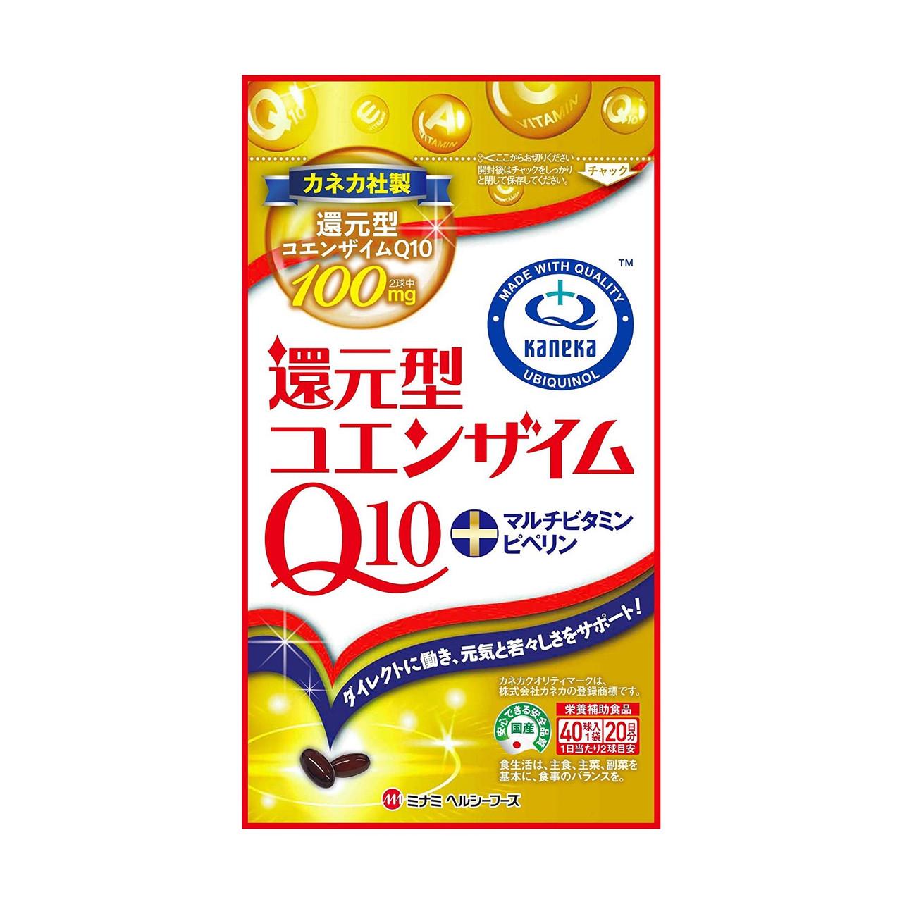 БАД Minami Coenzyme Q10 Multivitamins Коэнзим Q10 с мультивитаминами