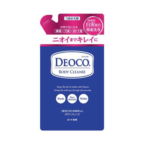 Deoco Body Cleanse — гель для душа против возрастного запаха, сменный блок