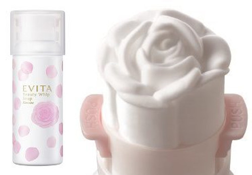 Evita Beauty Whip Soap Пенка для умывания в форме розы