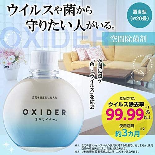 Oxider – блокатор вирусов для помещений