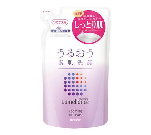 Kracie Lamellance Foaming Face Wash – увлажняющая пенка для умывания лица