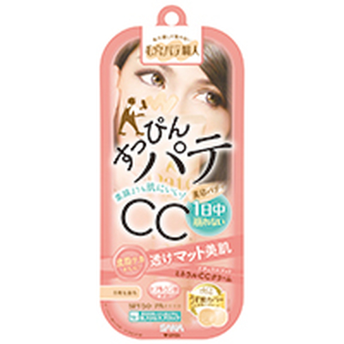 SANA Keana Pate Shokunin Mineral CC Cream NM – матирующий CC крем, маскирующий поры