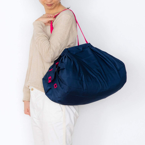 Marna Shupatto Compact Bag L Navy Складная экосумка