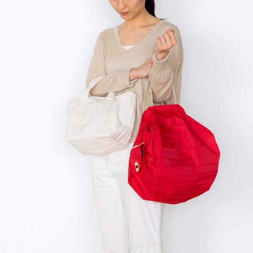 Marna Shupatto Compact Bag M Red Складная экосумка