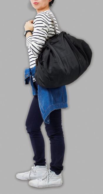 Marna Shupatto Compact Bag L Black Складная экосумка