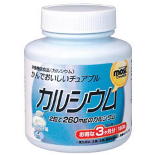 Orihiro Кальций в виде жевательных таблеток Most (90 дней)