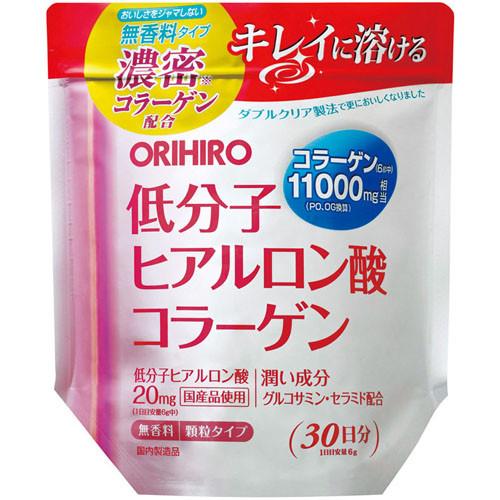Orihiro Низкомолекулярная гиалуроновая кислота и коллаген