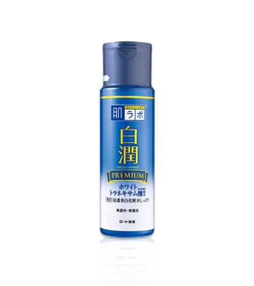 Hadalabo Shirojyun Premium Lotion Отбеливающий лосьон с гиалуроновой кислотой