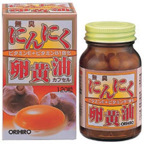 Orihiro Биодобавка Чеснок и яичный желток