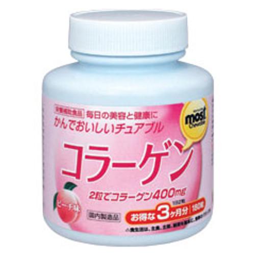 Orihiro Коллаген в виде жевательных таблеток