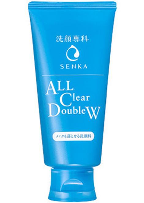 Senka All Clear Double Пенка для умывания и снятия макияжа