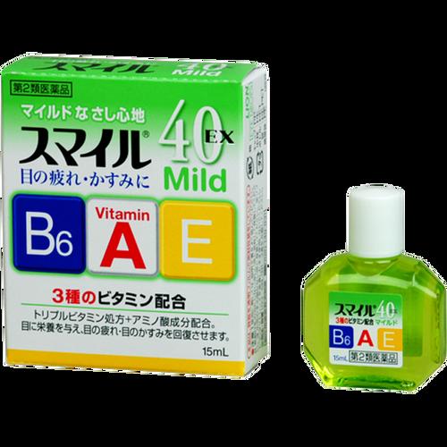 Глазные капли Lion Smile 40 EX Mild