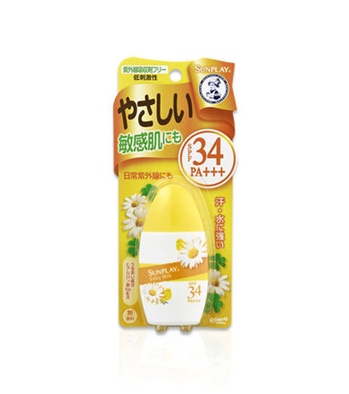 Mentholatum Sunplay Baby Milk SP34+/PA+++ Солнцезащитная эмульсия для детей