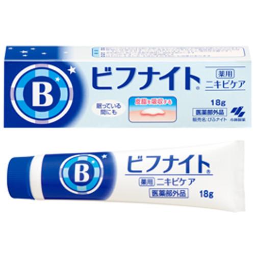 KOBAYASHI Bifunite n Ночной лечебный крем от акне