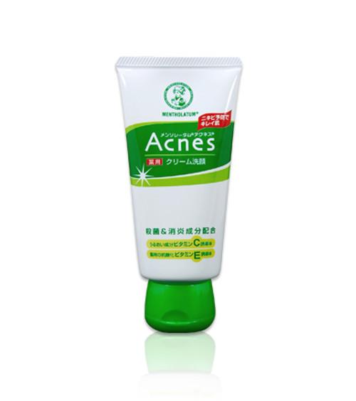 ROHTO Acnes Cream Face Wash Кремовая пенка для умывания для молодой кожи
