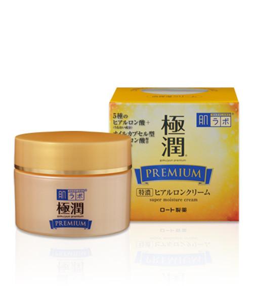 Hadalabo Gokujyun Premium Cream Крем с гиалуроновой кислотой
