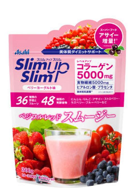 Asahi Slim Up Slim Смузи для похудения с ягодно-йогуртовым вкусом