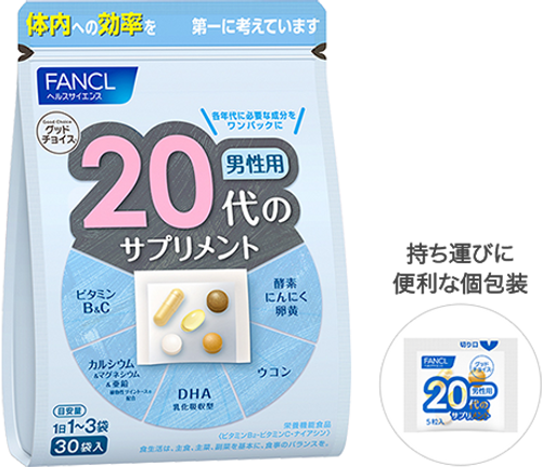 Биодобавка Fancl Good Choice Для мужчин от 20 лет