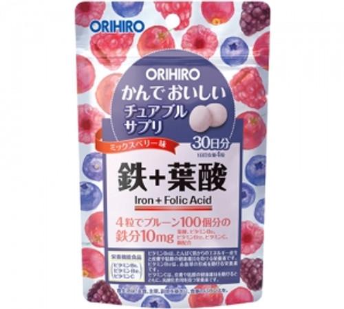 Orihiro БАД Железо и фолиевая кислота