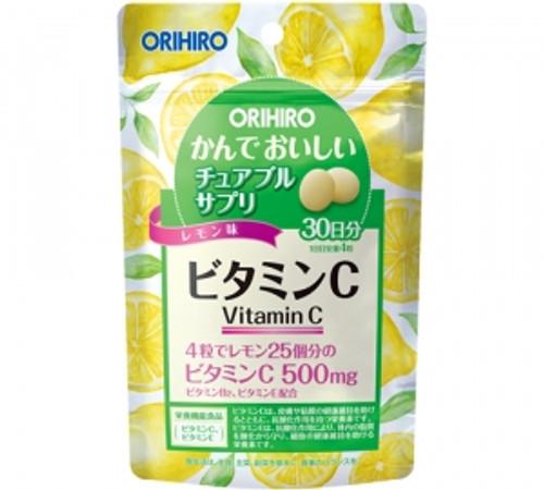 Orihiro Витамин С жевательные таблетки