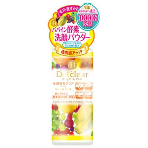 DetClear Bright & Peel Powder Wash Энзимная пудра для умывания