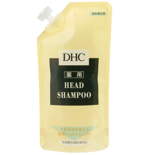 DHC Medicated Head Shampoo Лечебный шампунь Сменный блок