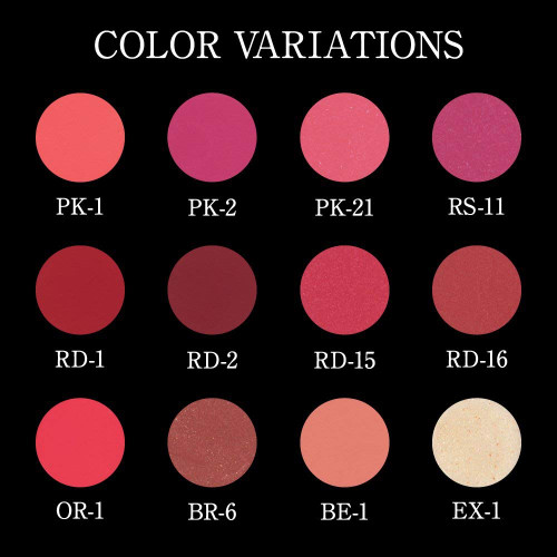 Kate Dimensional Rouge — Цвета помады