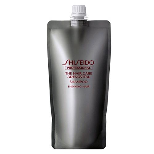 Shiseido Adenovital Shampoo — Шампунь для редеющих волос, сменный блок