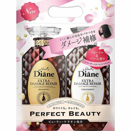 Moist Diane Extra Damage Repair Shampoo & Treatment Шампунь и кондиционер для поврежденных волос в упаковке