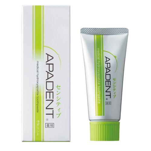 Apadent Sensitive - зубная паста, укрепляющая эмаль, для чувствительных зубов.