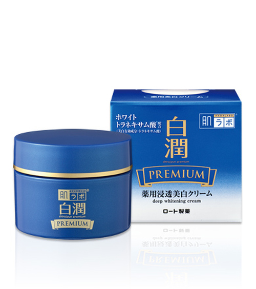 Hadalabo Shirojyun Premium Deep Whitening Cream Отбеливающий крем