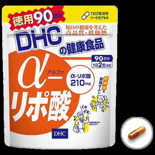 БАД DHC Alpha Lipoic Acid Липоевая кислота 90 дней