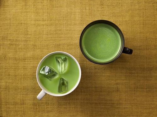 Tsujiri Matcha Milk Чай матча с молоком: варианты приготовления