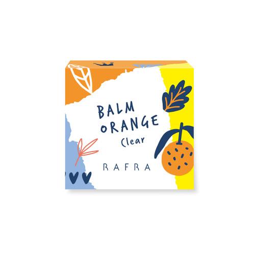 Rafra Balm Orange Clear Очищающий апельсиновый бальзам с конняку и фруктовыми кислотами