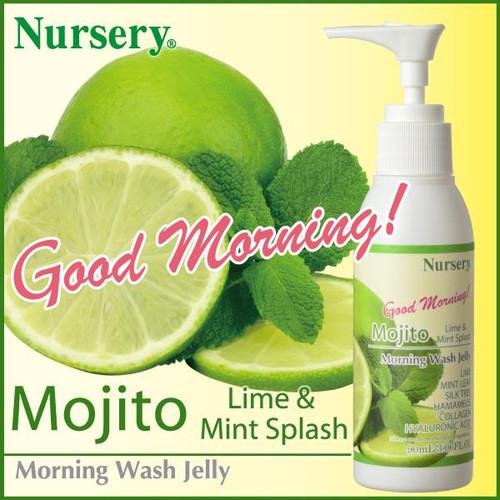 Nursery Morning Wash Jelly Mojito Гель для утреннего умывания с ароматом мохито